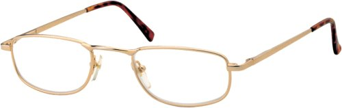 Sunoptic OR97A Gold Reading Glasses - Strength +2.50 Including Case
