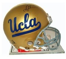 Troy Aikman Autographed Hand Signed UCLA Pro Line Helmet by Riddell by Hall+of+Fame+Memorabilia
