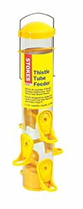 Stokes Select 38224 Thistle Tube Bird Feeder