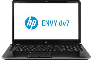 HP ENVY DV7-7200 Quad Edition HYBRID Notebook PC; DV7T