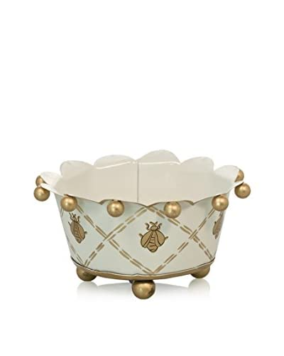 Jayes French Bee Coaster, Cream/Gold