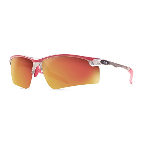 Realtree Drop Tine Sunglasses (Xtra/Red with Red/Smoke Mirror Lens)