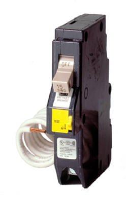 "Eaton Corporation Ch120Af 3/4"" 20 Amp 120V Single Pole Arc Fault Circuit Breaker For Cutler-Hammer Loadcenters"
