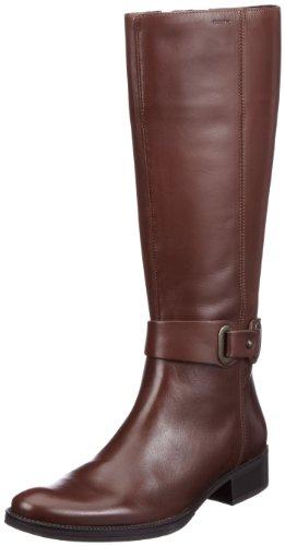 Geox Women's Donna Mendi Stivali Boots D2490B00043C6004 Chestnut C6004 5.5 UK
