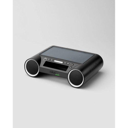 Eddie Bauer Eton Rukus Solar Portable Sound System, Black ONESZE