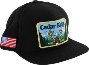 Skate Mental Cedar Ridge Black Adjustable Hat