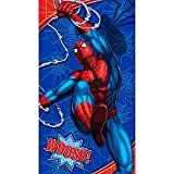 Spider-Man Slumber Indoor Sleeping Bag with Drawstring Bag 30 inches by 54 inches