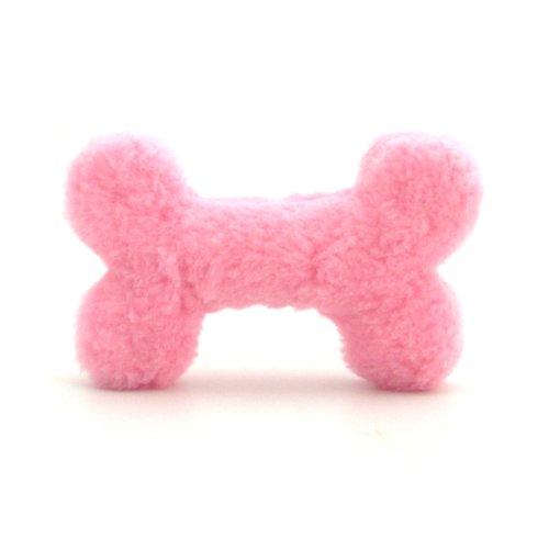 Pink Bone Plush Dog Toy – 10