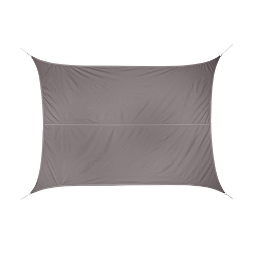 Voile d'Ombrage 118492   Curacao Polyester Taupe 3 x 4 m