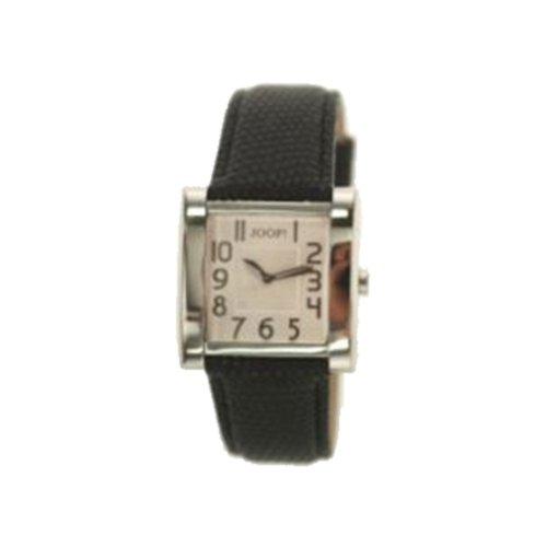 Joop JP100602F01 - Reloj analógico de mujer de cuarzo con correa de piel negra