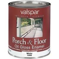 Valspar Interior And Exterior Oil Porch And Floor Enamel Quart 2Pk