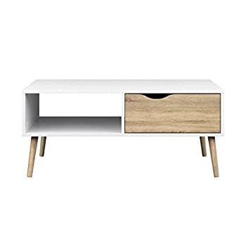 Tvilum 7538449ak Diana Coffee Table White Oak