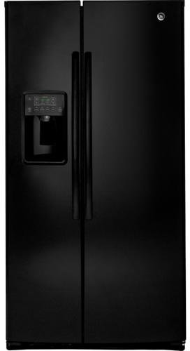 Ge Gse25Hghbb 25.4 Cu. Ft. Black Side-By-Side Refrigerator - Energy Star front-104872