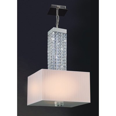 Tobias Four Light Pendant In Chrome
