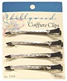 Hollywood Steel Coiffure Clips (6 Count) by Hollywood