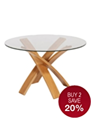 Jasper Dining Table Oak