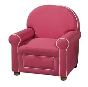 Amazon Kinfine Kids Upholstered Chair Pink
