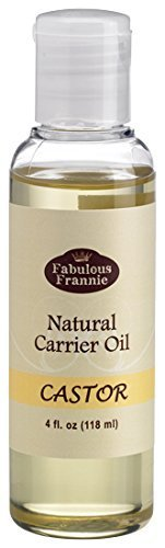 Castor 4oz Carrier Oil Base Oil for Aromatherapy, Essential Oil or Massage by Fabulous Frannie