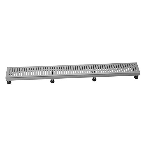 [해외]Jaclo 6210-32-BSS 슬롯 창 살, 32, 닦 았 스테인레스 스틸/Jaclo 6210-32-BSS Slotted Grate, 32 , Brushed Stainless Steel