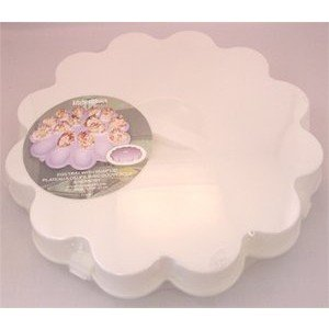 Kitchen Basics Devilled Egg Plate with Lid - White - 18 cavities (Devilled Eggs Plate compare prices)