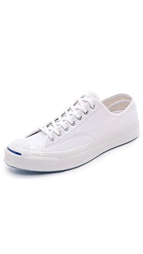 Converse Jack Purcell Signature, Unisex, White, Mens 12/Womens 13.5 (Converse Jack Purcell White compare prices)