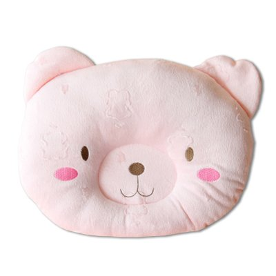 Cheap BonAchat New Cute Bear Cotton&Velvet Soft Anti Roll Baby Head Positioner Pillow, Prevent F...