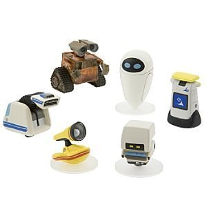 Buy Disney Pixar Wall-E Movie Exclusive 6 Piece PVC Mini Figure Collector Set