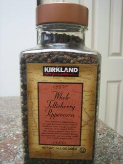 Kirkland Signature Whole Black Peppercorn - 14.1 Oz
