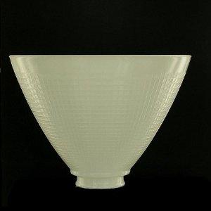 Upgradelights 8 Inch Glass Floor Lamp Reflector Shade Glass Lamp Glass