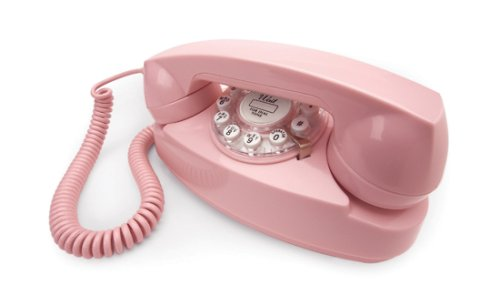 Wild & Wolf 1950s Princess Telephone - Baby Pink