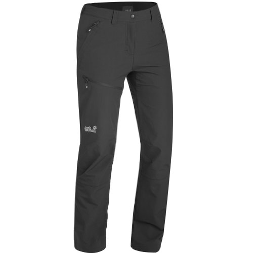 Jack Wolfskin Softshellhose Activate Pants Women black (Gr&#246;&#223;e: 44)