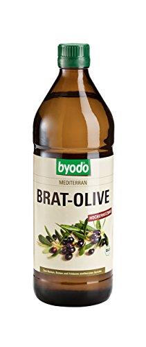 Image of Byodo Brat-Olive Mediterran Bio Öl, 1er Pack (1 x 750 ml)