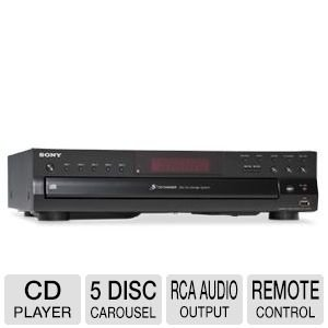 sony-compact-disc-player-5-disc-carousel-optical-output-rca-audio-output-cd-text-display-100-ft-oxyg