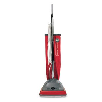 Electrolux Sanitaire Commercial Standard Upright Vacuum, 19.8 Lbs, Red/Gray - One Upright Vacuum Cleaner.