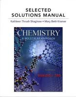 Selected Solutions Manual for Chemistry: A Molecular Approach by Tro Nivaldo J