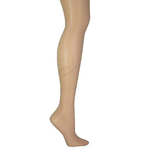 Donna Karan Micro Tulle Nude Control Top Pantyhose #0B159 Tall