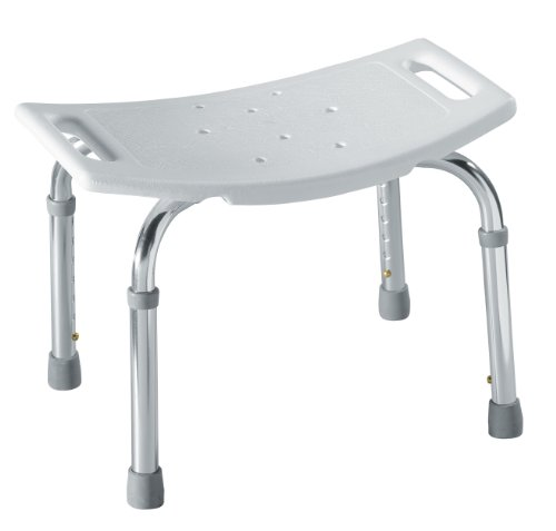 Moen DN7025 Home Care Adjustable Tub And Shower Seat (White)