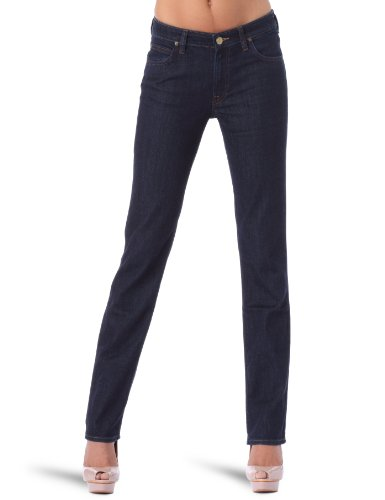 Lee Marion Straight Womens Jeans Rinse W30in