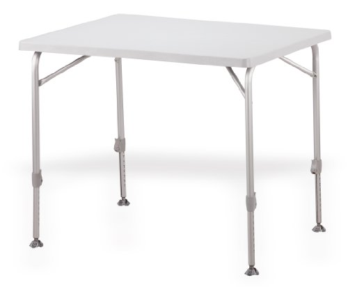 Westfield Weather Resistant Adjustable Height Campstar Folding Table (90 x 70cm)