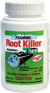 Roebic Frk-6 Foaming Root Killer, 1-Pound front-505576