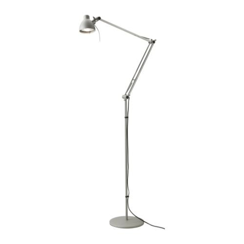 Ikea Floor Lamp Transformer ~ Ikea's Antifoni Floor Reading Lamp, Silver Color at The PC Repair Shop