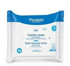 Mustela Facial Cleansing Cloth - 25 pk