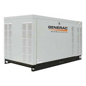 Generac Qt02724Jnax Quietsource Liquid-Cooled 2.4L 27Kw 120/240 Volt 3-Phase Natural Gas Aluminum Generator