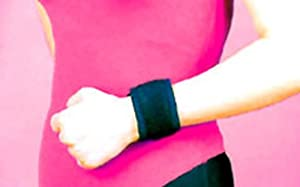 Magnetic Wrist Wrap Band Natural Magnet Therapy Pain Relief