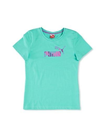 Puma Camiseta Td Logo Turquesa