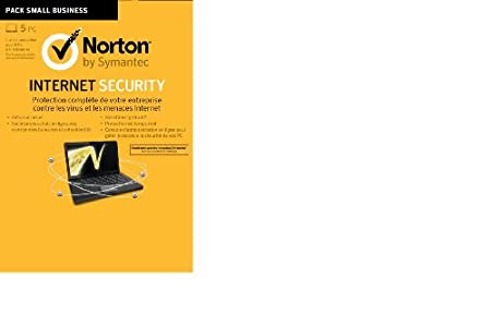 Norton internet security 2013 - 1 an / 5 postes