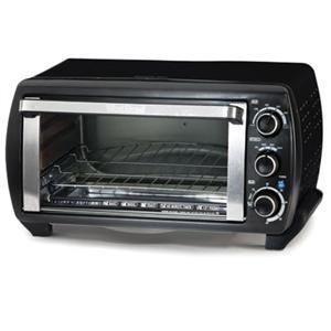 WB Toaster Oven 6Slice Blk Big Discount