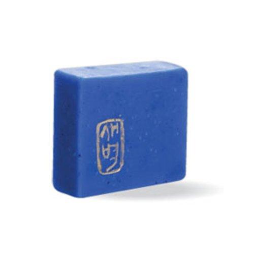 手作り石けん 藍熟成ソープ 、藍、ラベンダー、敏感肌、ニキビ、アトピー