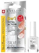 Eve Line 8 in1 total Action uñas Conditioner con partículas de plata, 12 ml
