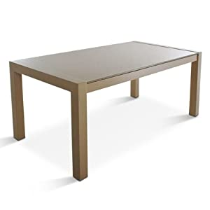 sam design esszimmer tisch z rich 180 x 90 cm glastisch. Black Bedroom Furniture Sets. Home Design Ideas
